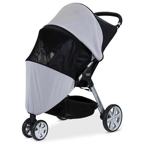 Britax® Sun & Bug Stroller Cover - Gray - image 1 of 4