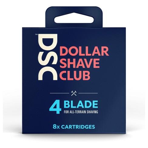 Dollar Shave Club 4-Blade Razor Cartridge Refills - 8ct - image 1 of 4