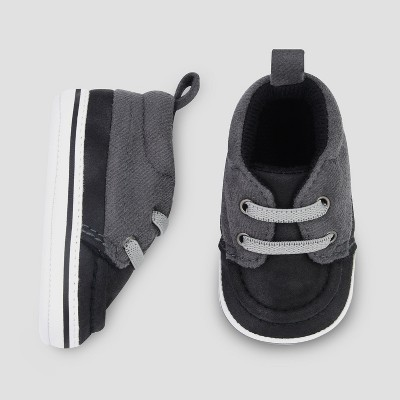 Baby Boys' Low Top Sneaker - Just One You® made by carter's Black 0-3M