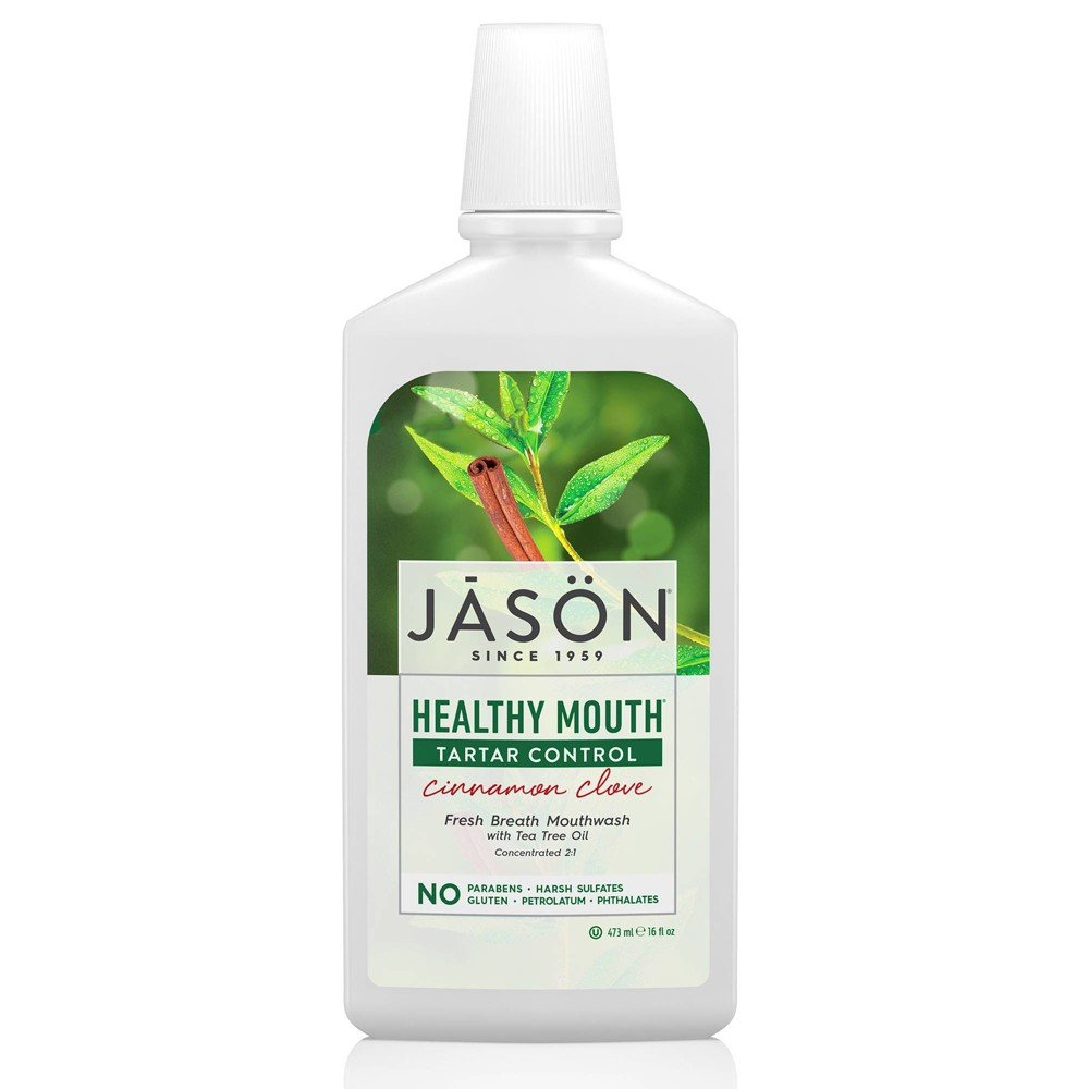 Image of JASON Healthy Mouth Tartar Control Cinnamon Clove Mouthwash - 16 fl oz