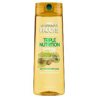 Garnier Fructis Triple Nutrition Fortifying Shampoo - 12.5 fl oz