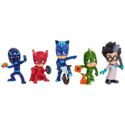 PJ Masks Collectible Figure Set - 5pc
