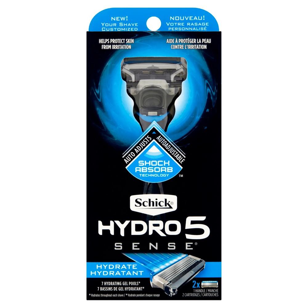 Schick Hydro5 Sense Hydrate - 1 handle + 2 razor blade refills