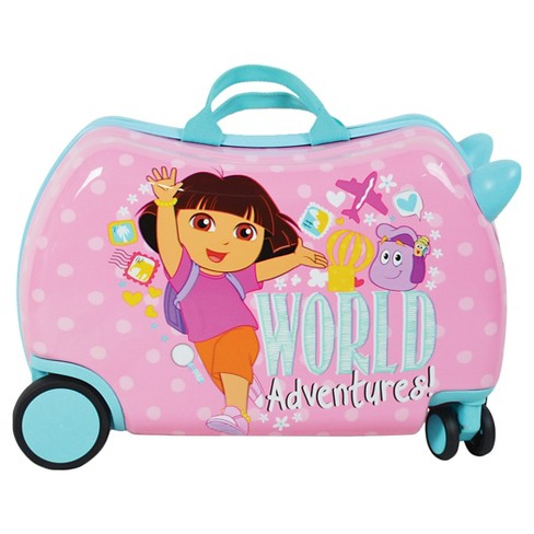 Dora the Explorer Cruizer Kids Carry On Suitcase - image 1 of 4