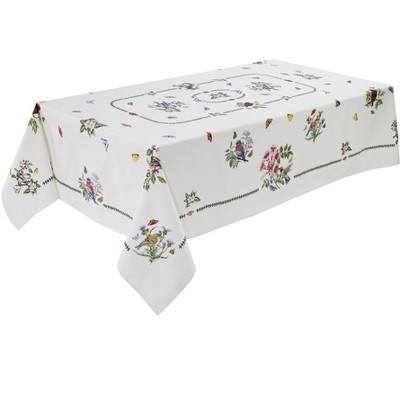 "Avanti Botanic Birds 84"" Tablecloth - Multicolored"