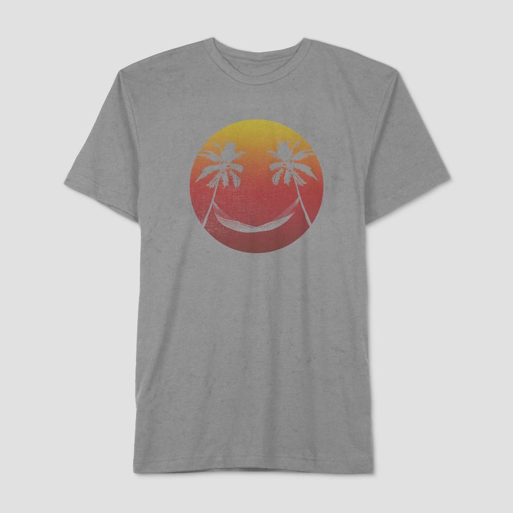 Well Worn Men's Short Sleeve Sun T-Shirt - Silverstone S, Gray