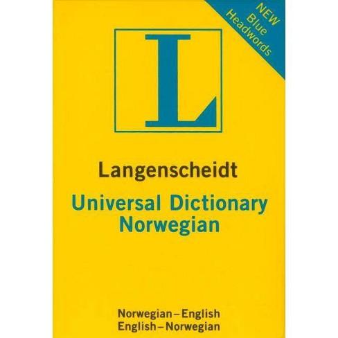 Langenscheidt Universal Norwegian Dictionary - (Paperback) - image 1 of 1