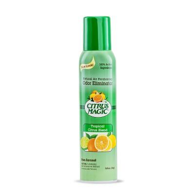 Citrus Magic Odor Eliminating Tropical Citrus Blend Air Freshener - 3.5oz