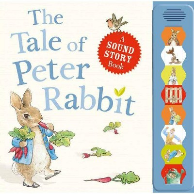 The Tale of Peter Rabbit - (Peter Rabbit (Frederick Warne)) by  Beatrix Potter (Board Book)