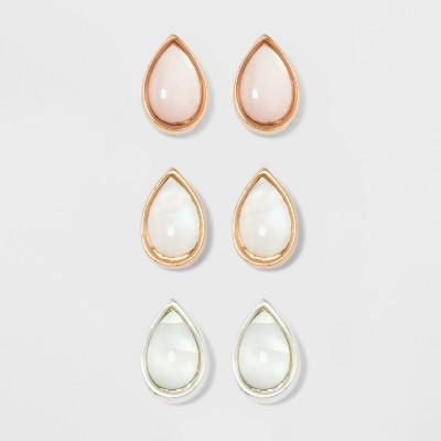 Teardrop Shape Earring Set - A New Day™