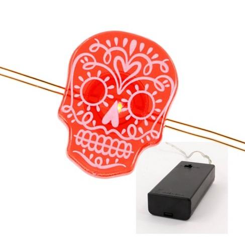 Philips Da de Muertos Sugar Skull LED Dew Drop String Lights - image 1 of 4