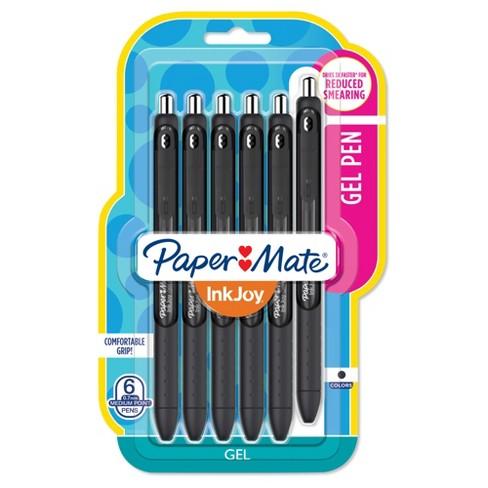 Paper Mate InkJoy Gel Pen, 6ct - Black - image 1 of 3