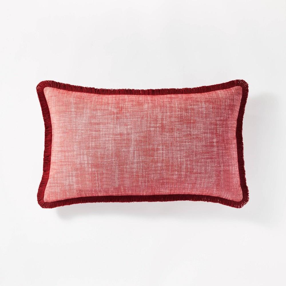 Coupons Oversized Woven Textu Lumbar Throw Pillow  - Threshold™ designed with Studio McGee