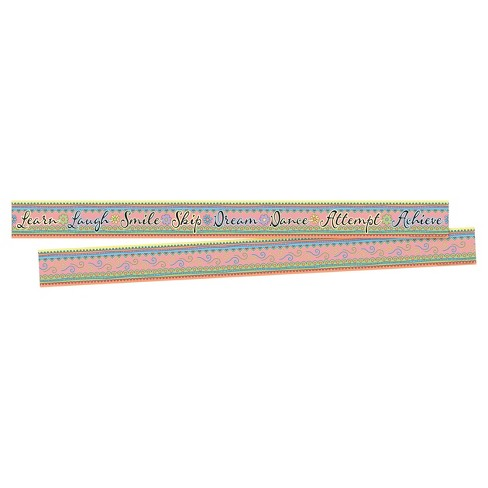Barker Creek® Bulletin Board Double-Sided Border - Learn & Laugh - image 1 of 4