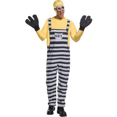 Despicable Me DM3 Jail Minion Tom Adult Costume