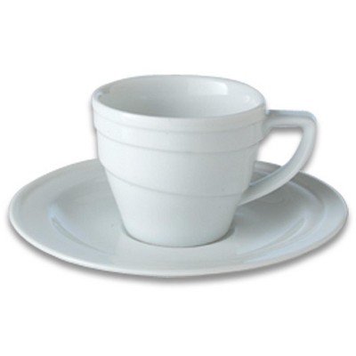 BergHOFF Eclipse 3.5oz Porcelain Espresso Cup & Saucer