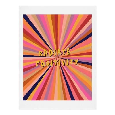 Alisa Galitsyna Radiate Positivity Art Print - Society6