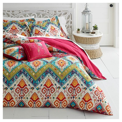 Red Moroccan Nights Comforter Set - Azalea Skye