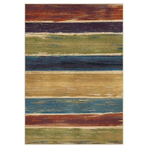 Stretched Lines Rug - Orian - image 1 of 5