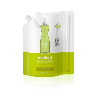 Method Lime + Sea Salt Liquid Dish Soap Refill - 36 fl oz