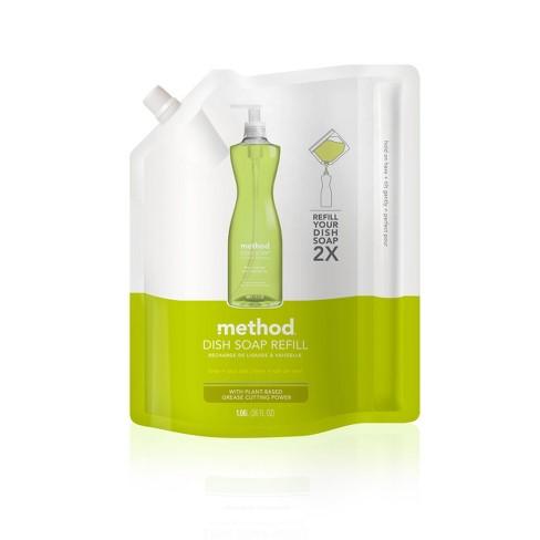 Method Lime + Sea Salt Liquid Dish Soap Refill - 36 fl oz - image 1 of 3