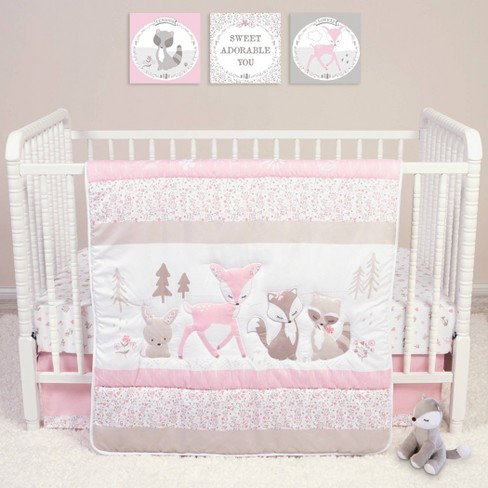 Sammy And Lou Sweet Forest Friends Crib Bedding Set 4pc Target
