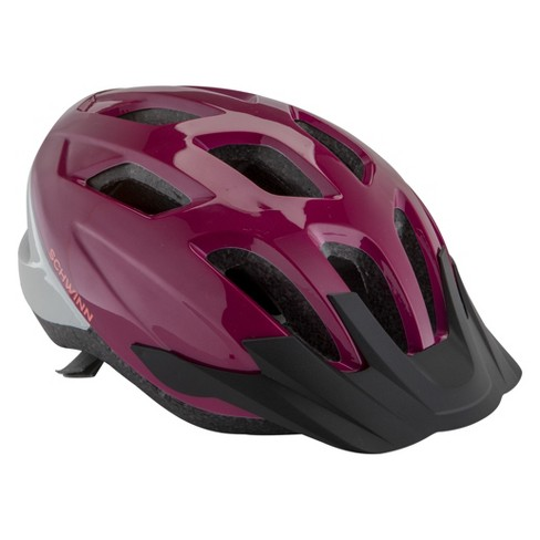 Schwinn Women's Adult Crossroad Bike Helmet - Purple - image 1 of 5