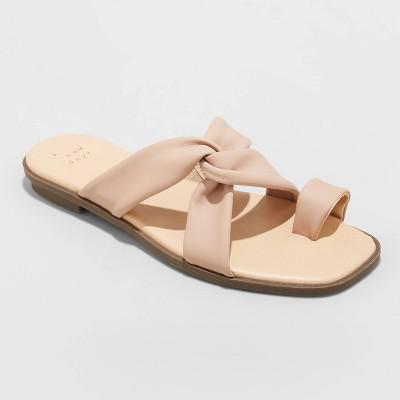 Women's Jessa Toe Loop Sandals - A New Day™