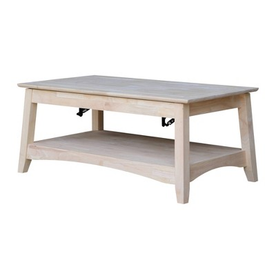 Bombay Tall Coffee Table with Lift Top - International Concepts