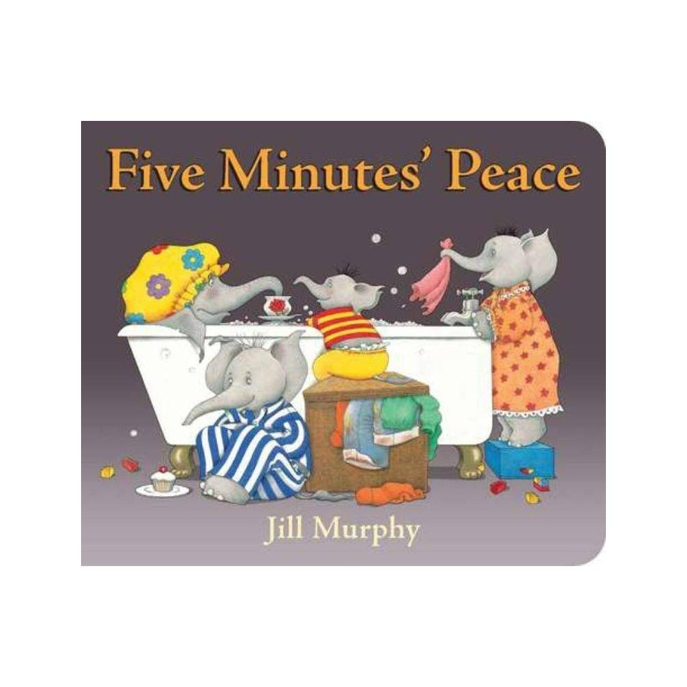 Five Minutes Peace By Jill Murphy Board Book