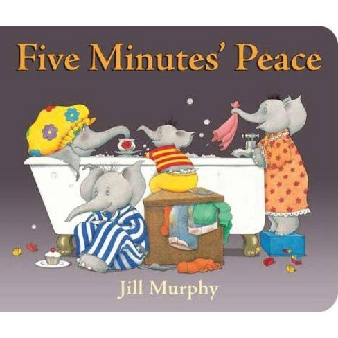Five Minutes' Peace - by  Jill Murphy (Board Book) - image 1 of 1