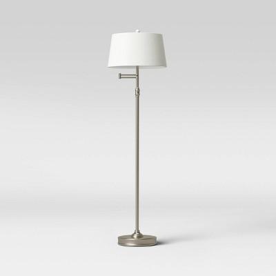Swing Arm Floor Lamp (Includes LED Light Bulb) - Threshold™