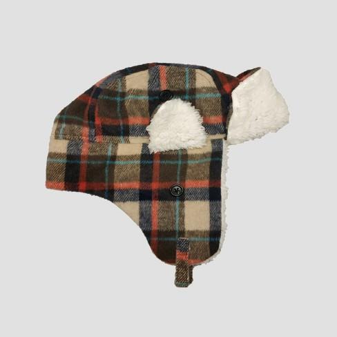 Toddler Boys  Plaid Flannel Trapper Hat - Cat   Jack™ 2T-5T   Target bfa71b03afc