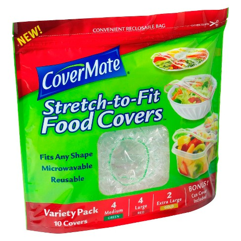 CoverMate Stretch to Fit Food Covers Variety Pack - 10ct - image 1 of 1