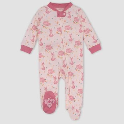 Burt's Bees Baby® Baby Girls' Pretty Little Fox Sleep N' Play - Rose Pink