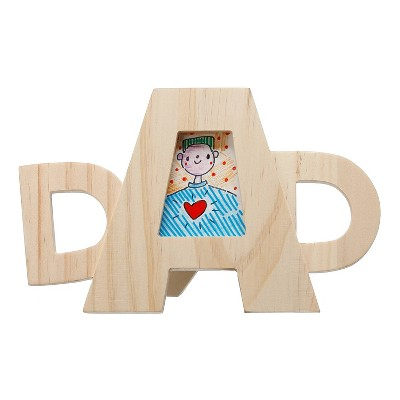 Wooden Dad Picture Frame - Hand Made Modern®