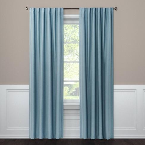 Aruba Linen Blackout Curtain Panel - Threshold™ - image 1 of 3
