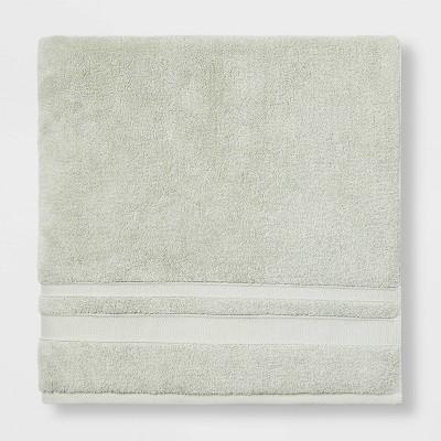 Performance Bath Sheet Light Green - Threshold™
