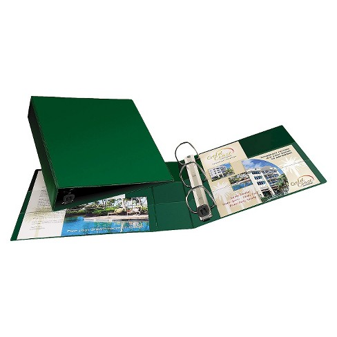 """Avery Heavy-Duty Binder with One Touch EZD Rings, 11 x 8 1/2, 2"""" Capacity, Green - image 1 of 1"""