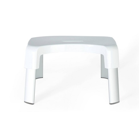 Smart 4 Multi-Purpose Bathroom Stool White - Better Living Products - image 1 of 3