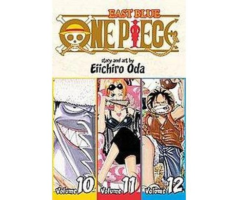 One Piece 4 : East Blue 10-11-12 Omnibus (Paperback) (Eiichiro Oda) - image 1 of 1