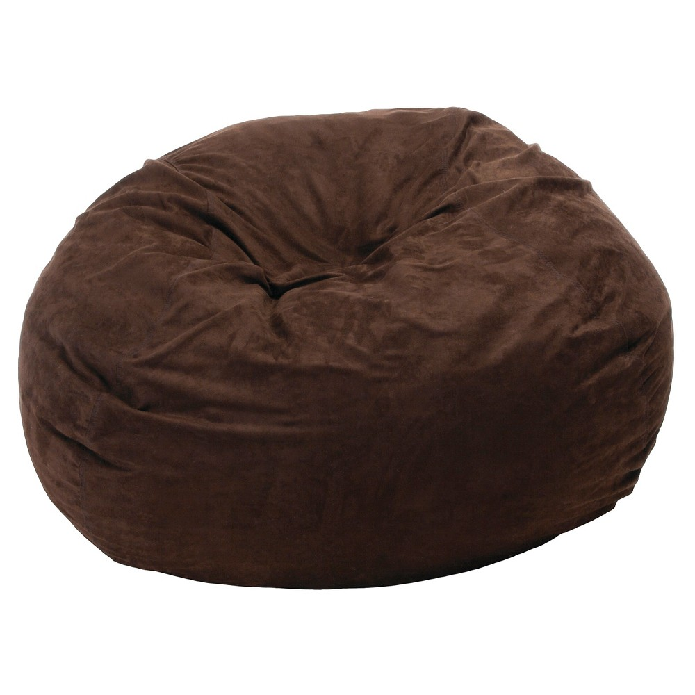 Christopher Knight Home Madison Faux Suede 5-Foot Beanbag - Brown