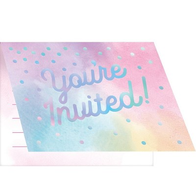 "8ct ""You're Invited"" Party Invitation"