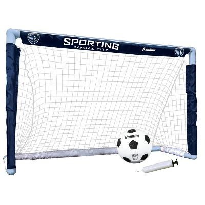 MLS Sporting Kansas City Size 1 Mini Soccer Goal Set