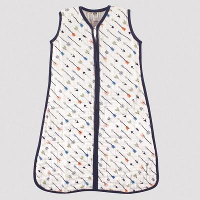 Hudson Baby Safe Sleep Wearable Muslin Sleeping Bag - Boy Arrows - 0-6M