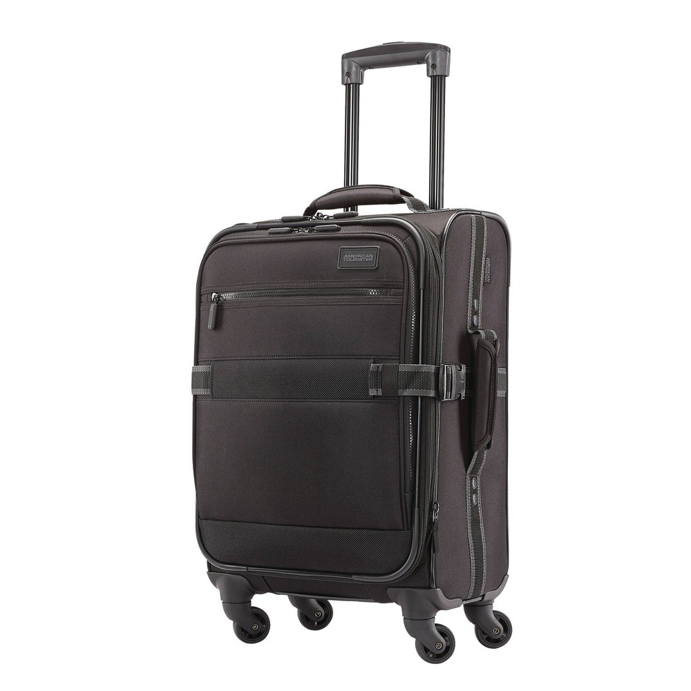 American Tourister 22.5 Softside Carry On Spinner Suitcase - Black was $99.99 now $49.99 (50.0% off)