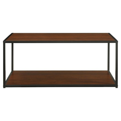Canton Coffee Table with Metal Frame - Cherry - Altra - image 1 of 5
