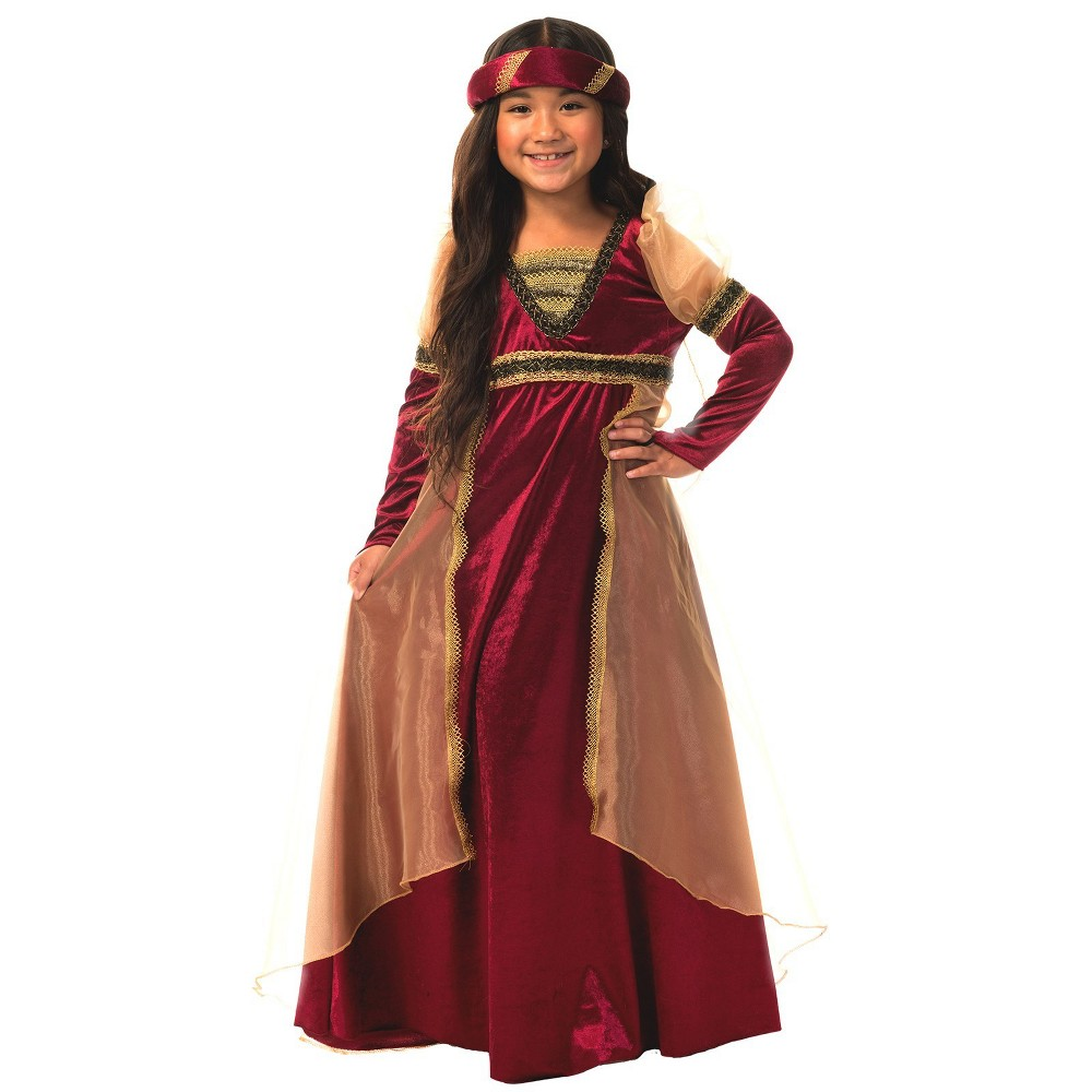 Girls' Renaissance Halloween Costume L - Charades Costumes, Multicolored