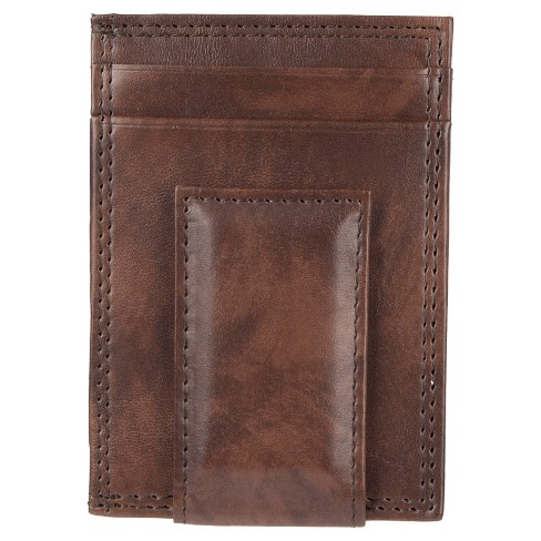 Wemco™ Men's Slim Magnetic Front Pocket Wallet - Brown - image 1 of 5