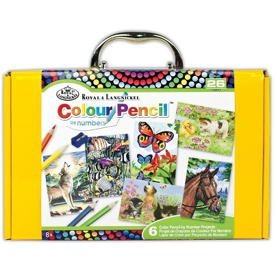 Color Pencil By Number Kit